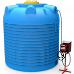 Мини АЗС вертикальная на 10000 литров