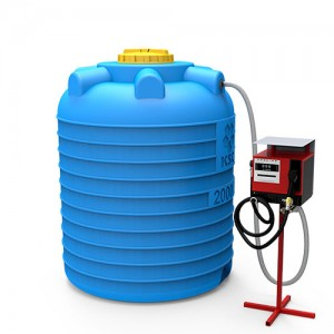 Мини АЗС вертикальная на 2000 литров