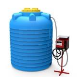 Мини АЗС вертикальная на 3000 литров
