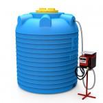 Мини АЗС вертикальная на 5000 литров