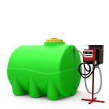Мини АЗС горизонтальная на 2000 литров